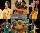 Finali NBA 2009-10, Game 7, Boston Celtics 79 - Los Angeles Lakers 83