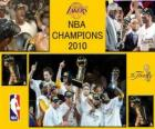 Campioni NBA 2010 - Los Angeles Lakers -