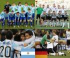 Argentina - Deutschland, quarti di finale, Sudafrica 2010