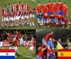 Paraguay - Spagna, quarti di finale, Sudafrica 2010