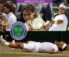 2010 Campione di Wimbledon Rafael Nadal
