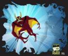 Pinnajet o JetRay è un alieno aerofibio capace di volare e nuotare più velocemente della velocità del suono