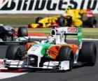 Force India Adrian Sutil - - Silverstone 2010