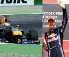 Sebastian Vettel - Red Bull - Hockenheim, Gran Premio di Germania (2010) (classificata 3 °)