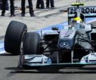 Mercedes Nico Rosberg - - Hungaroring, Gran Premio d'Ungheria 2010