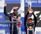 Mark Webber - Red Bull - Spa-Francorchamps, Gran Premio del Belgio 2010 (2 ° posto)