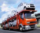 Camion trasporto delle automobili