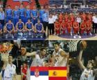 Serbia - Spagna, quartos di finale, 2010 Campionato mondiale di pallacanestro maschile Turchia