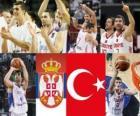 Serbia - Turchia, le semifinali, 2010 mondiale di pallacanestro maschile Turchia