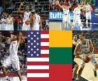 Stati Uniti - la Lituania, le semifinali, 2010 mondiale di pallacanestro maschile Turchia