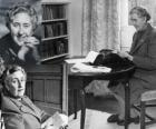Agatha Christie (1890 - 1976) è stato uno scrittore britannico di romanzi polizieschi.