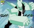 Diamante è un alieno con un corpo fatto di vetro estremamente dura