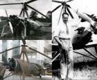 Juan de la Cierva y Codorniu (1895 - 1936) inventò il autogiro, precursore dell'unità elicotteri di oggi.