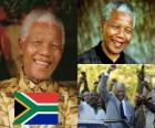 Nelson Mandela nel suo paese noto come Madiba, fu il primo presidente democraticamente eletto del Sud Africa a suffragio universale.
