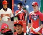 Bryce Harper giocatore di baseball di Washington Nationals