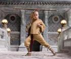L'avatar Aang è il protagonista principale dell'avventura e il suo destino è di dominare i quattro elementi: Aria, Acqua, Terra e Fuoco