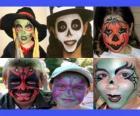 trucco per bambini per Halloween