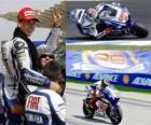 Jorge Lorenzo Campione del Mondo MotoGP 2010