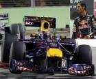 Mark Webber - Red Bull - Singapore 2010 (3 ° posto)