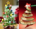 alberi di Natale, originali