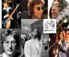 John Lennon (1940 - 1980) musicista e compositore che divenne famosa nel mondo come uno dei membri fondatori dei Beatles.