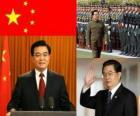 Hu Jintao segretario generale del Partito comunista cinese e presidente della RPC