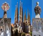 Tempio espiatorio della Sacra Famiglia - Sagrada Família - Barcellona, Spagna.