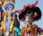 Il cranio Catrina, uno dei più popolari Giorno dei Morti in Messico