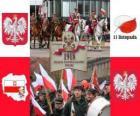 Giornata nazionale della Polonia, 11 novembre. Commemorazione della indipendenza della Polonia nel 1918