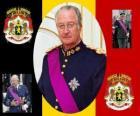 La Festa del Re, una cerimonia per onorare il re del Belgio, il 15 novembre. Stemma del Belgio