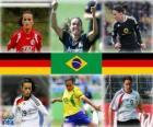 Nominato per il giocatore del Mondo della FIFA dell'anno 2010 (Fatmire Bajramaj, Marta Vieira da Silva, Birgit Prinz)