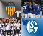 Coppa dei Campioni d'Europa - UEFA Champions League ottavi di finale del 2010-11, Valencia CF - FC Schalke 04
