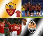 Coppa dei Campioni d'Europa - UEFA Champions League ottavi di finale del 2010-11, AS Roma - Shakhtar Donetsk