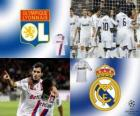 Coppa dei Campioni d'Europa - UEFA Champions League ottavi di finale del 2010-11, Olympique lyonnais - Real Madrid CF