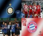 Coppa dei Campioni d'Europa - UEFA Champions League ottavi di finale del 2010-11, FC Bayern Munchen - FC Internazionale Milano