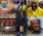 FIFA Premio Presidenziale nel 2010 l'arcivescovo Desmond Tutu per