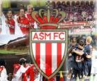AS Monaco che gioca per il campionato francese