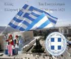 Festa dell'Indipendenza della Grecia, 25 marzo 1821. Guerra di Indipendenza o Rivoluzione greca