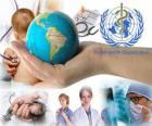 Giornata mondiale della salute, che commemora la fondazione della OMS su 7 aprile 1948