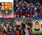Champions League - UEFA Champions League Quarti di finale 2010-11, Barcellona - Shakhtar Donetsk