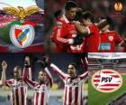 UEFA Europa League 2.010-11 Quarti di finale, il Benfica - PSV
