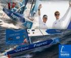 Virbac-Paprec 3 Il vincitore della Barcelona World Race 2.010-11