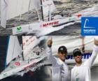 Il Mapfre secondo nella Barcelona World Race 2.010-11