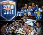 FC Porto portoghese Champion League 2.010-11