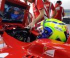 Felipe Massa, nello sviluppo della sua Ferrari