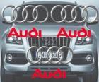 Logo di Audi, marchio automobilistico tedesco