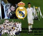 Real Madrid campione Copa del Rey 2010-2011