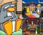 Sensei è un essere vivente pinguino molto saggia nel Dojo e insegna loro ad essere pinguini ninja