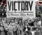 Che commemora la vittoria alleata sul nazismo e la fine della seconda guerra mondiale. Giorno della Vittoria, 8 MAGGIO 1945