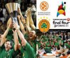Panathinaikos, PAO, campione della Euroleague Basketball 2011